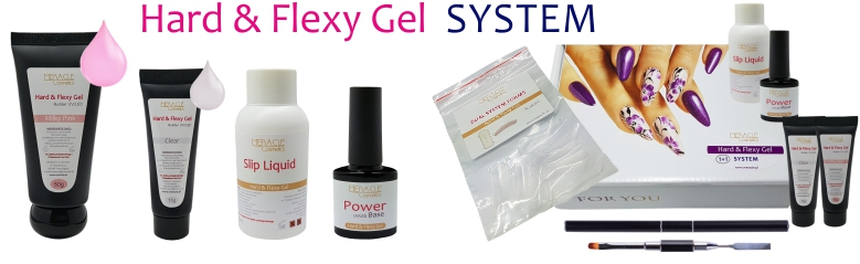 Hard & Flexy Gel SYSTEM