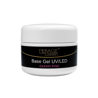 Base Gel UV/LED (Clear Pink) 15g